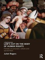 Law's Cut on the Body of Human Rights