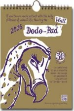 Dodo Wall Pad 2015 - Calendar Year Wall Hanging Week to View Diary Organiser