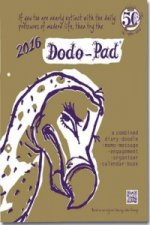 Dodo Pad Loose-Leaf Desk Diary 2016 - Week to View Calendar Year Diary