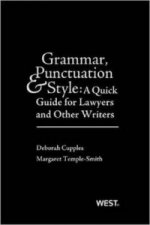 Grammar, Punctuation, and Style