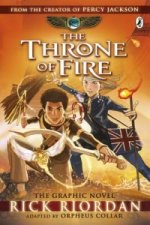 Kane Chronicles: the Throne of Fire: The Graphic Novel