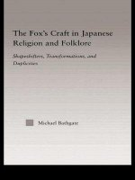 Fox's Craft in Japanese Religion and Culture