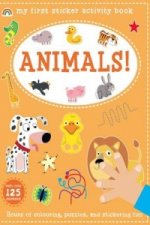 My First Sticker Activity Book - Animals!