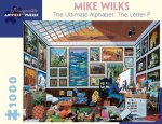 Mike Wilks the Ultimate Alphabet the Letter P 1000-Piece Jigsaw Puzzle