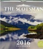 Scotsman Wall Calendar 2016