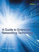 Guide to Enterprise Networking Technology
