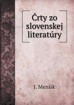 Črty zo slovenskej literatury