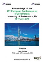 Eceg 2015 - Proceedings of the 15th European Conference on E-Government