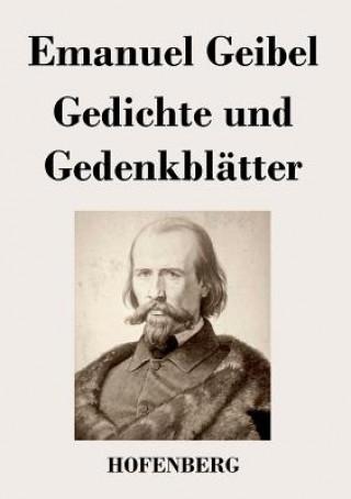 Gedichte Und Gedenkbl tter