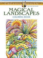 Creative Haven Magical Landscapes Coloring Book