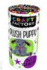 Craft Factory Tubes Plush Puppy