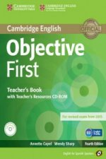 Objective First for Spanish Speakers Teacher's Book with Teacher's Resources CD-ROM