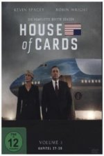 House of Cards, 4 DVDs. Season.3