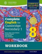 Complete English for Cambridge Lower Secondary Student Workbook 8 (First Edition)