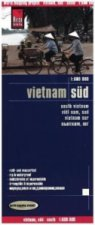 World Mapping Project Reise Know-How Landkarte Vietnam Süd (1:600.000). South Vietnam / Viet Nam sud / Vietnam sur