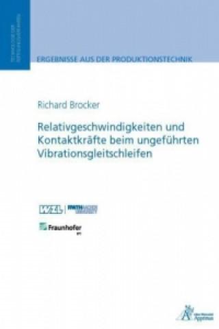 Relativgeschwindigkeiten und Kontaktkräfte beim ungeführten Vibrationsgleitschleifen