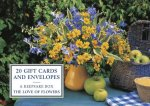 Tin Box of 20 Gift Cards and Envelopes: The Love of Flowers