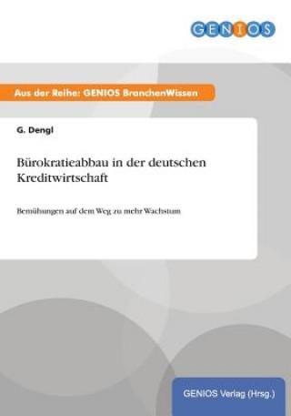 Burokratieabbau in der deutschen Kreditwirtschaft