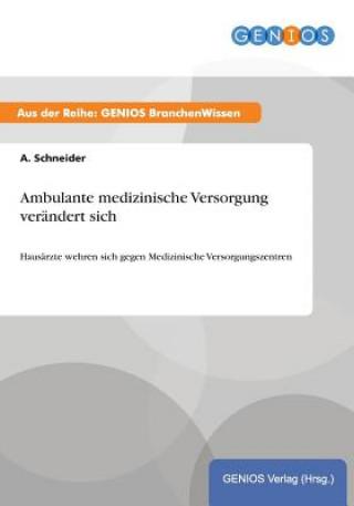 Ambulante medizinische Versorgung verandert sich