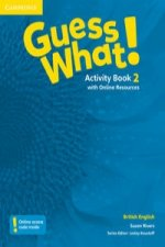 Guess What! Level 2 Activity Book with Online Resources British English