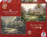 Sonnenuntergang in Riverbend / Winter in Riverbend (Puzzle)