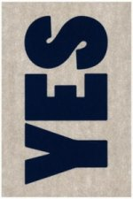 Notizbuch Graphic L Jeans Label Material - Yes - No, Blue Screen Print