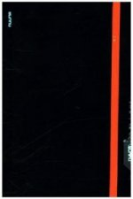Notizbuch Punk - Black/Orange