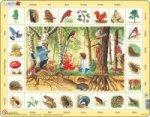 Puzzle MAXI - Život v lese/48 dílků