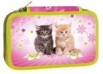 Školní penál dvoupatrový - Cats