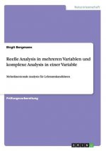 Reelle Analysis in mehreren Variablen und komplexe Analysis in einer Variable