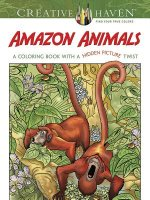 Creative Haven Amazon Animals