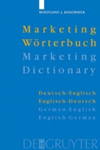 Marketing-Woerterbuch / Marketing Dictionary