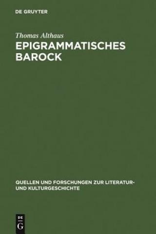 Epigrammatisches Barock