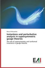 Instantons and perturbative analysis in supersymmetric gauge theories