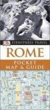 DK Eyewitness Pocket Map and Guide: Rome