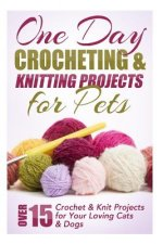One Day Crocheting & Knitting Projects for Pets