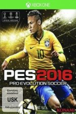 PES 2016, Pro Evolution Soccer, XBox One-Blu-ray Disc
