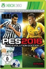 PES 2016, Pro Evolution Soccer, Xbox360-DVD