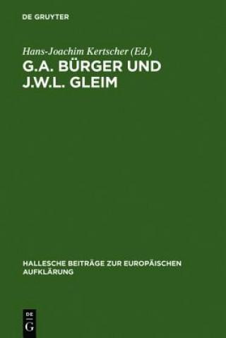 G.A. Burger Und J.W.L. Gleim
