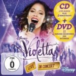Violetta: Live In Concert, 1 Audio-CD + DVD (Deluxe Edition). Staffel.2/2