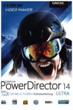 CyberLink PowerDirector 14 Ultra, 1 DVD-ROM