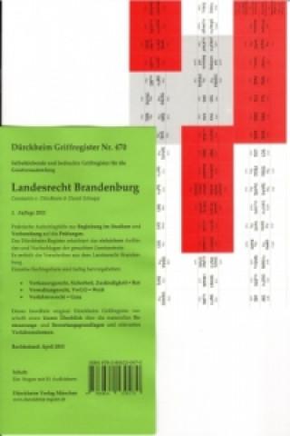Berliner Verwaltung, Griffregister