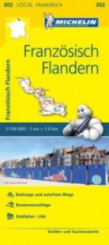 Michelin Karte Französisch Flandern