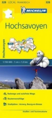Michelin Karte Hochsavoyen