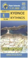 Hiking Map Wanderkarte Kythnos