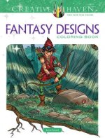 Creative Haven Fantasy Designs Coloring Book