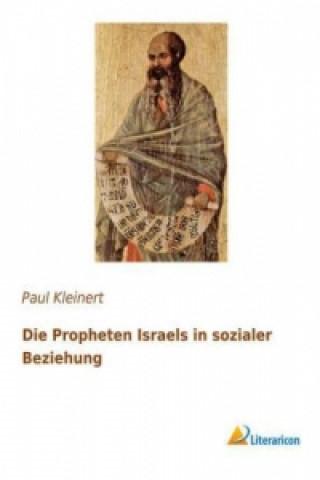 Die Propheten Israels in sozialer Beziehung
