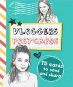Vloggers Postcard Book
