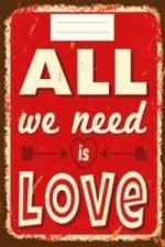 Sešit - All we need is Love