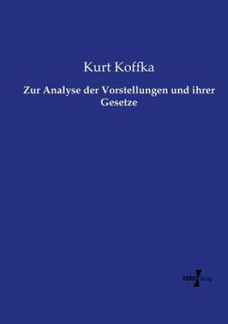 Zur Analyse der Vorstellungen und ihrer Gesetze